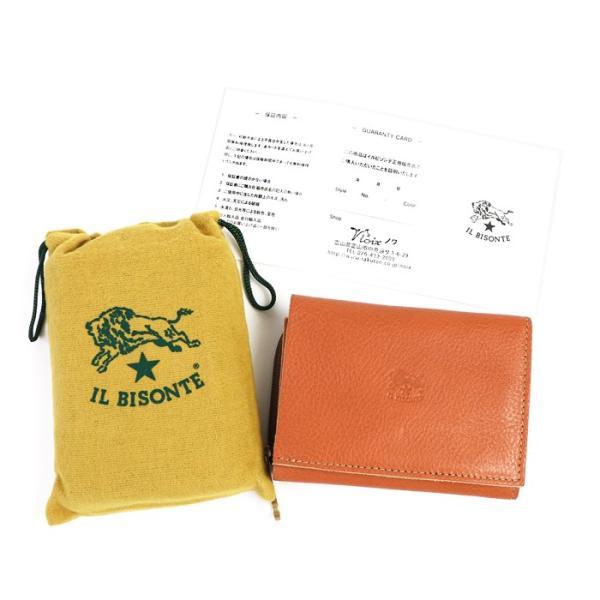 イルビゾンテ 日本正規取扱店 財布 三つ折りコンパクト財布(ファスナー) 54192310140 送料無料 IL BISONTE ラッピング無料|noix|12