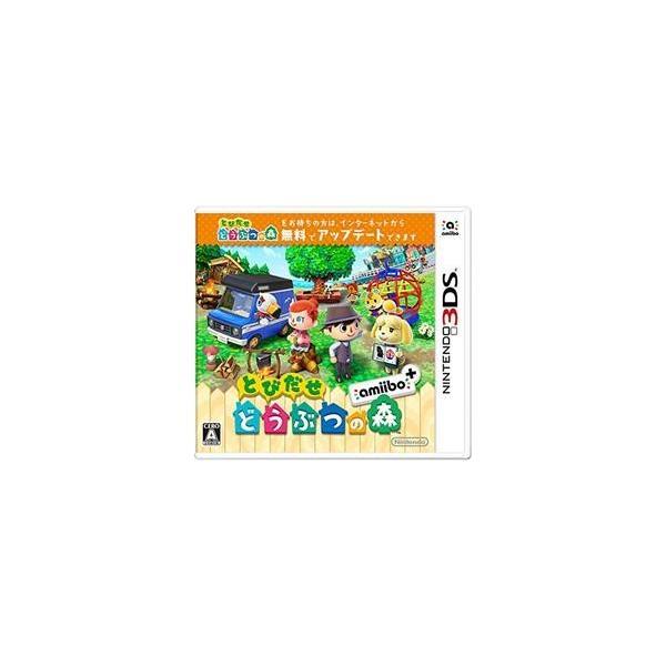 任天堂 【3DS】 とびだせ どうぶつの森 amiibo+ CTR-W-EAAJ