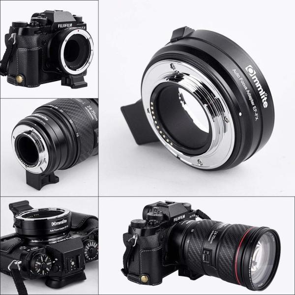 Commlite CM-EF-FX 電子オート フォーカス レンズのアダプター キヤノン タムロン シグマ EF/EF-S レンズ富士フイル|nomad|03