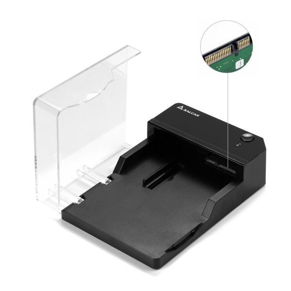 Salcar 高速USB3.0 3.5インチ 外付け HDD/SSD ケース UASP高速転送 SATAI/II/III対応 6TB 高放熱|nomad|04