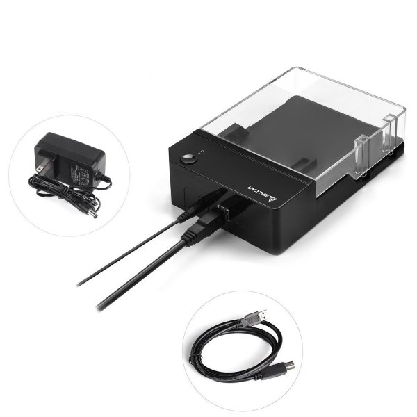 Salcar 高速USB3.0 3.5インチ 外付け HDD/SSD ケース UASP高速転送 SATAI/II/III対応 6TB 高放熱|nomad|06