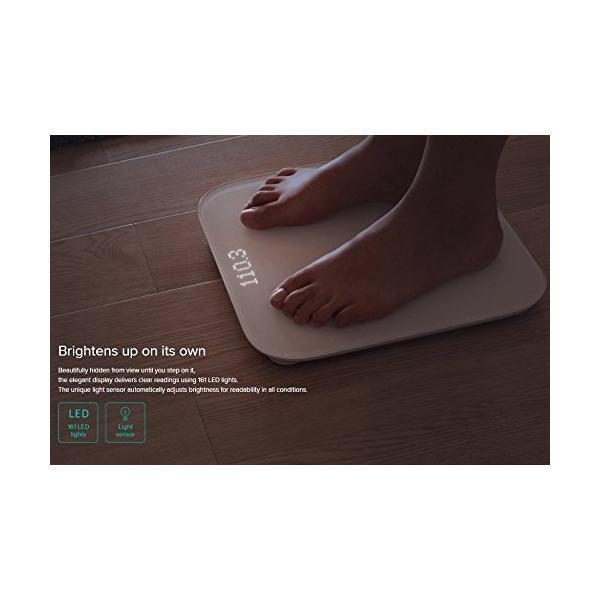 Xiaomi 体重計 スマートスケール 体脂肪 体組成計|nomad|04