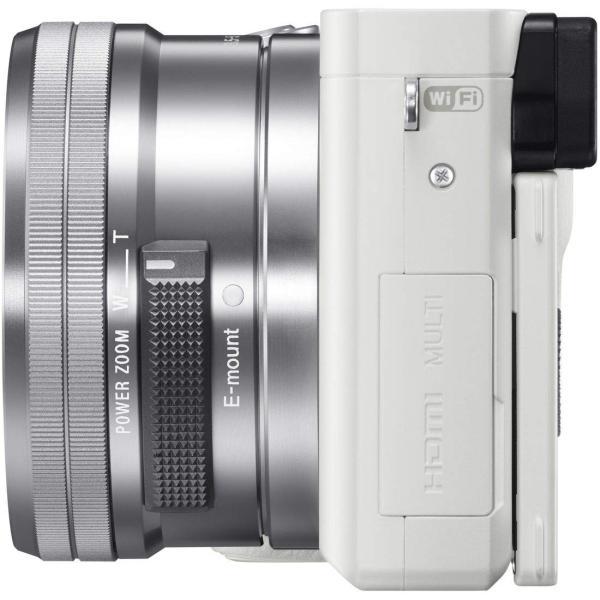 SONY ミラーレス一眼 α6000 パワーズームレンズキット E PZ 16-50mm F3.5-5.6 OSS ホワイト ILCE-60 nomad 03