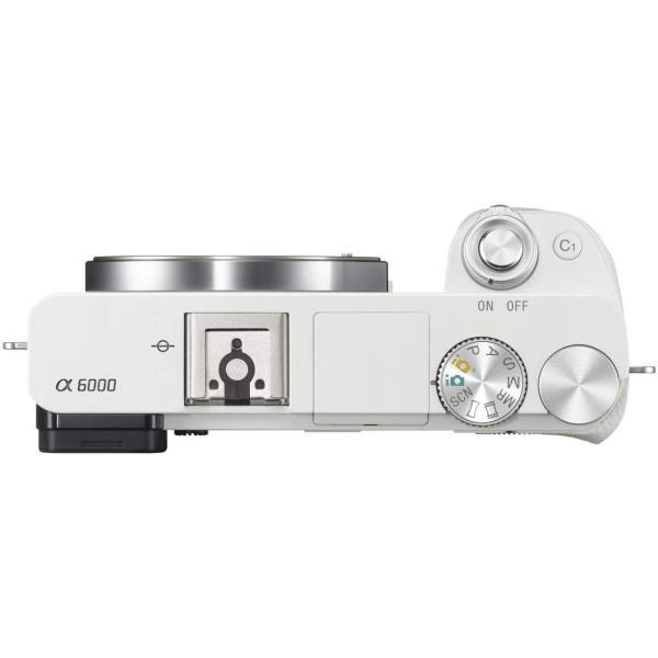 SONY ミラーレス一眼 α6000 パワーズームレンズキット E PZ 16-50mm F3.5-5.6 OSS ホワイト ILCE-60 nomad 06
