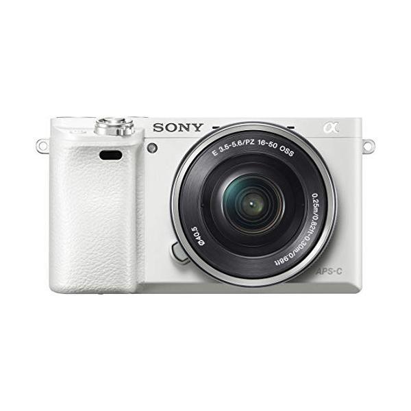 SONY ミラーレス一眼 α6000 パワーズームレンズキット E PZ 16-50mm F3.5-5.6 OSS ホワイト ILCE-60 nomad 08