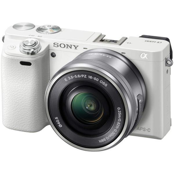 SONY ミラーレス一眼 α6000 パワーズームレンズキット E PZ 16-50mm F3.5-5.6 OSS ホワイト ILCE-60 nomad 09
