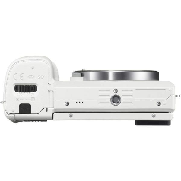 SONY ミラーレス一眼 α6000 パワーズームレンズキット E PZ 16-50mm F3.5-5.6 OSS ホワイト ILCE-60 nomad 10