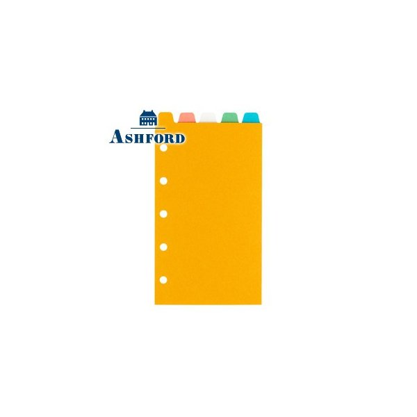 リフィル ミニサイズ アシュフォード カラーインデックス トップ5段 MICRO5 ミニサイズ リフィル 5セット 2566-100