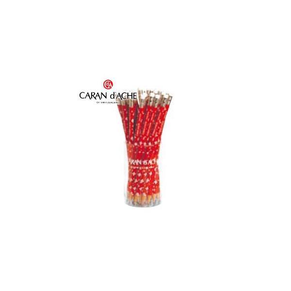 鉛筆 カランダッシュ スイス フラッグ 消しゴム付き鉛筆36本セット 鉛筆 No. 34211236