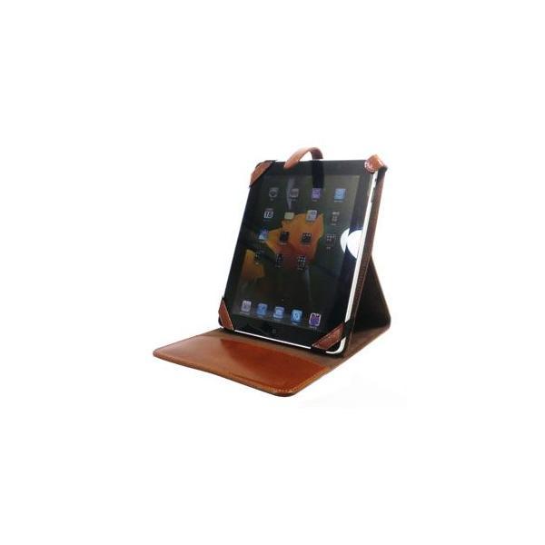 iPad ケース 革 名入れ 國鞄(コクホー) 国鞄シリーズ ipad アイパッドケース 茶 2304CK