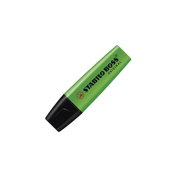 マーカー スタビロ ポス オリジナル 蛍光マーカー 10本セット グリーン 70-33