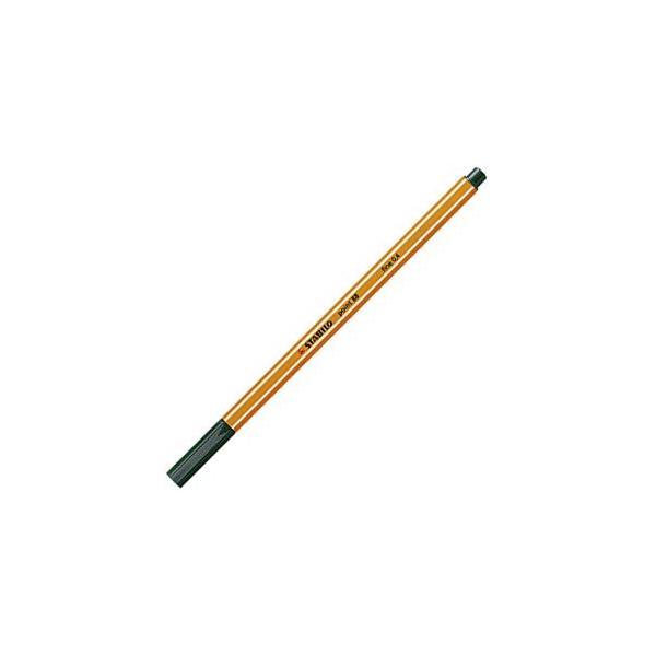 ファイバーチップペン スタビロ ポイント88 ファイバーチップペン 10セット オリーブグリーン 88-63