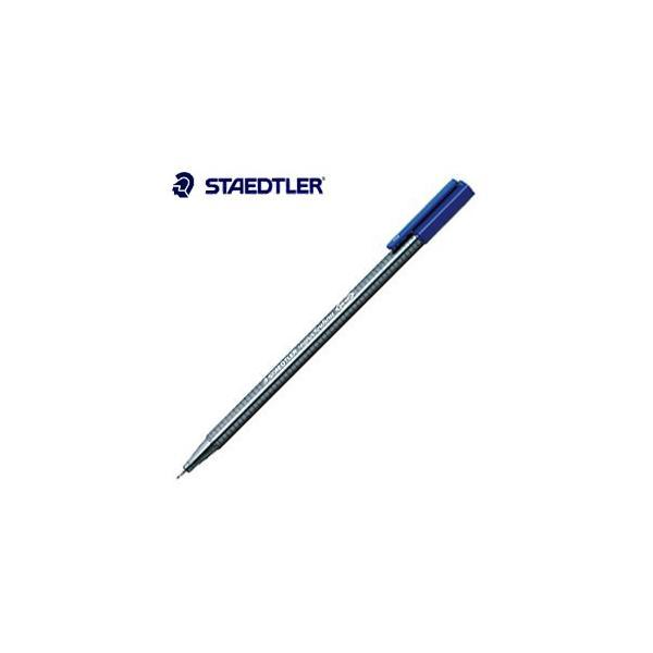 ファインライナー ステッドラー トリプラス ファインライナー 細書きペン ダークモーブ 10本箱入り 334-61