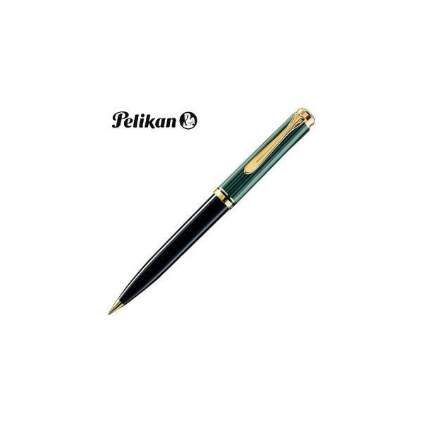 シャーペン 高級 名入れ ペリカン スーベレーン D600 ペンシル 緑縞 D600GR
