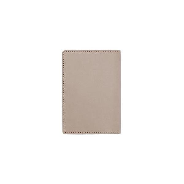 パスポートケース メンズ 革 名入れ メタフィス セバンズ グレージュ パスポートカーバー 3セット 83021-GG