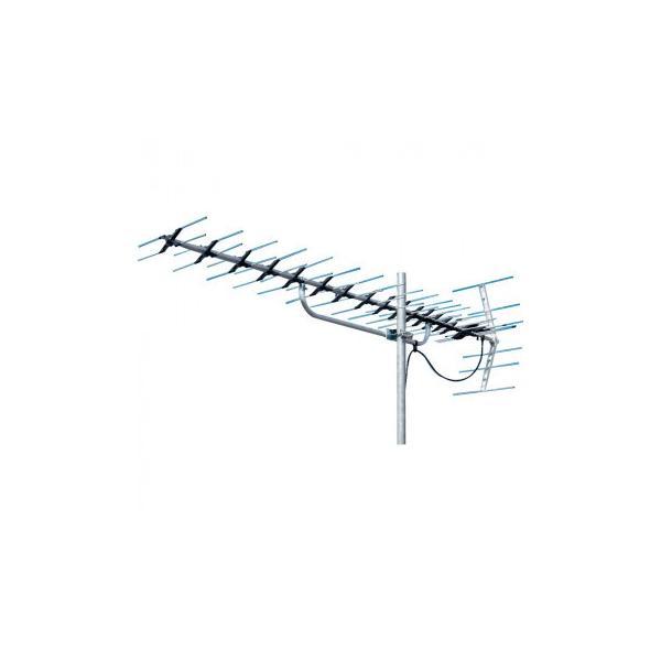 マスプロ電工 地上デジタル放送受信用 家庭用 超高性能UHFアンテナ 20素子 LS206TMH 送料無料  メーカー直送、期日指定不可、ギフト包装不可、返品不可