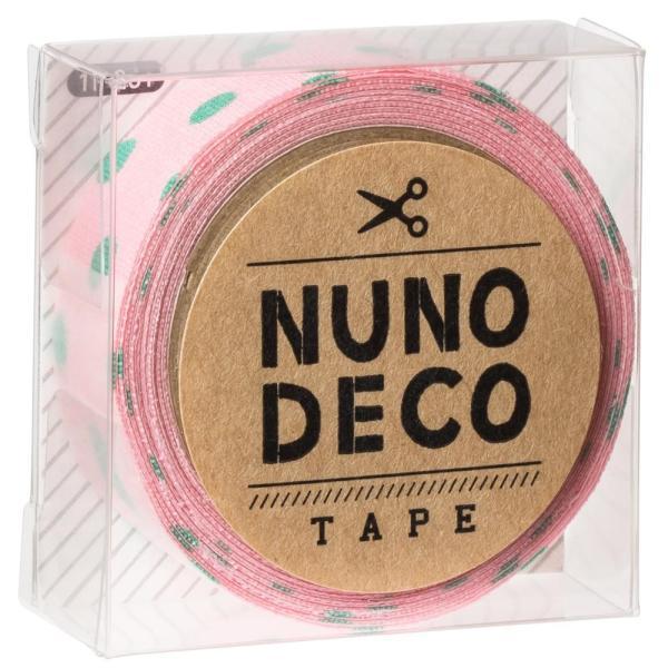 KAWAGUCHI(カワグチ) 手芸用品 NUNO DECO ヌノデコテープ すももとはっぱ 11-861 送料無料  送料無料 メーカー直送 期日指定・ギフト包装・注文後のキャ