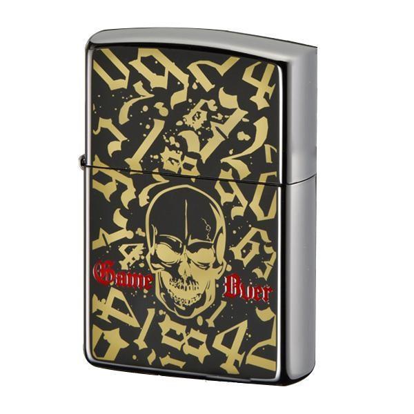 ZIPPO ブラックジェネレーション ゲームオーバー (♯200) 70549 送料無料  代引き不可 送料無料 メーカー直送 期日指定・ギフト包装・注文後のキャンセル・