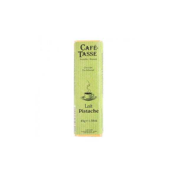 CAFE-TASSE(カフェタッセ) ピスタチオミルクチョコ 45g×15個セット 送料無料  代引き不可 送料無料 メーカー直送 期日指定・ギフト包装・注文後のキャンセ