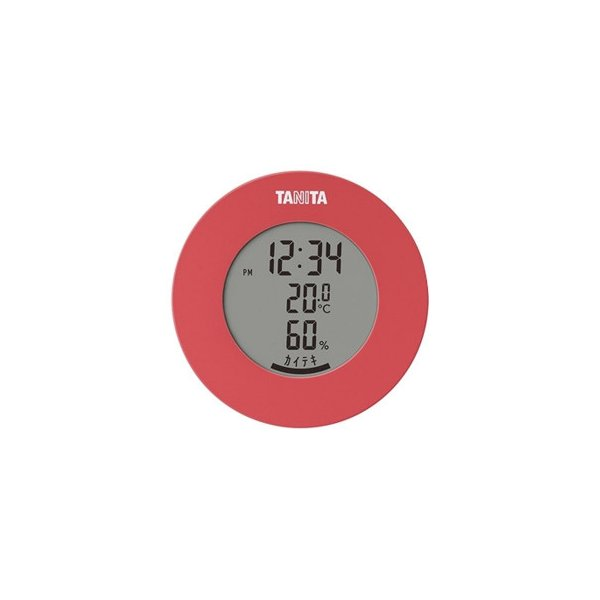 TANITA タニタ デジタル温湿度計 TT-585PK 送料無料  送料無料 メーカー直送 期日指定・ギフト包装・注文後のキャンセル・返品不可 ご注文後在庫確認時に欠品