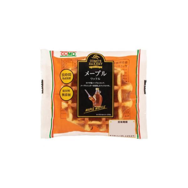 コモのパン メープルワッフル ×24個セット 送料無料  代引き不可 送料無料 メーカー直送 期日指定・ギフト包装・注文後のキャンセル・返品不可 ご注文後在