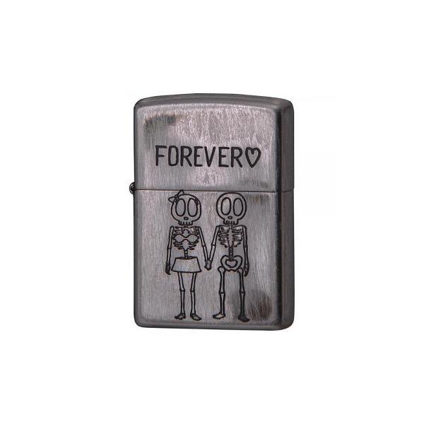 ZIPPO(ジッポー)ライター SKULL FOREVER(骨になっても愛はつづく。) 2UDS-FOREVER 送料無料  送料無料 メーカー直送 期日指定・ギフト包装・注文後のキャンセ