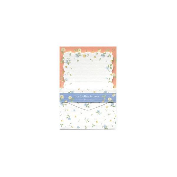 クリエイトジー ミニミニレターセット 青花柄 CGMML1008 6セット 送料無料  代引き不可 送料無料 メーカー直送 期日指定・ギフト包装・注文後のキャンセ