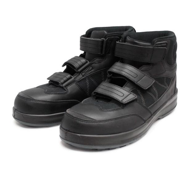 シモン プロスニーカー ミッドカット シモンライト SL28【SL28】黒/ グレー 2色|nonnonxx2001|09