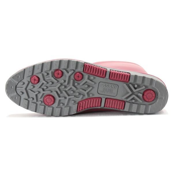 アサヒ レディース長靴 R307【R307】 日本製|nonnonxx2001|11