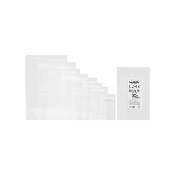 ラミジップ スタンドタイプ LZ-10 160×100+30mm 50枚×5袋【専用倉庫直送】