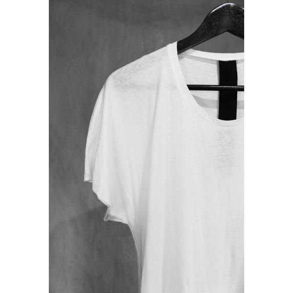Atelier Aura/アトリエアウラ Sunna organic cotton tee (Wht) ワンピースアームカットソー  Tシャツ 46-48   ホワイト アルチザン  nontitletokyo 02