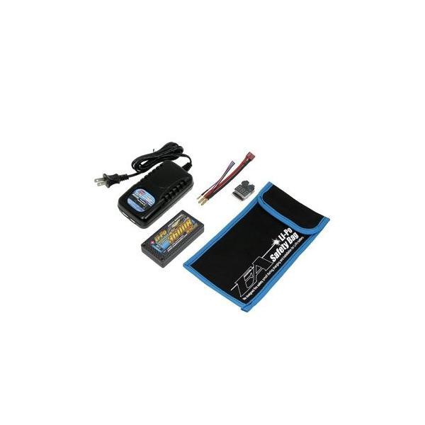 イーグル模型 RC用リポ・スターティングセット (EA3600R/7.4V 85Cαハードケース5点セット) 3906V3-SET|noon-store