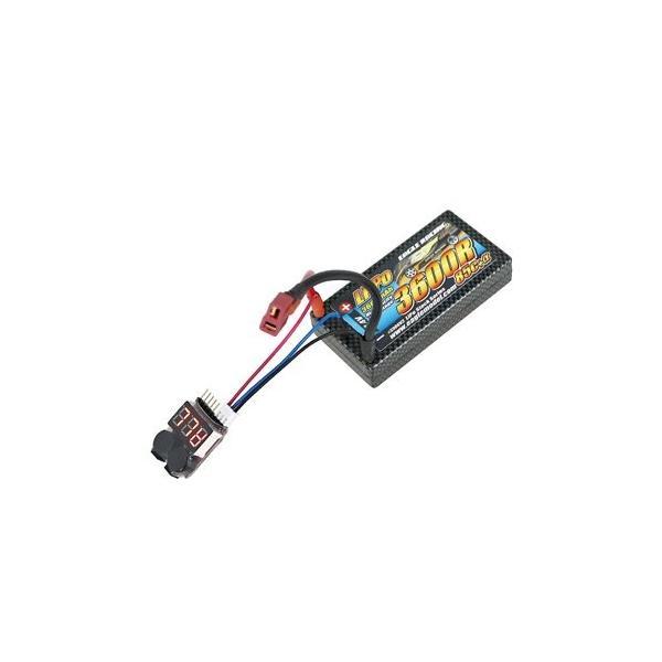 イーグル模型 RC用リポ・スターティングセット (EA3600R/7.4V 85Cαハードケース5点セット) 3906V3-SET|noon-store|03