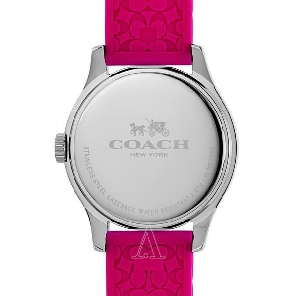 コーチ レディース MADDY ピンク シリコン 14502513 あすつく 腕時計|nopple|02