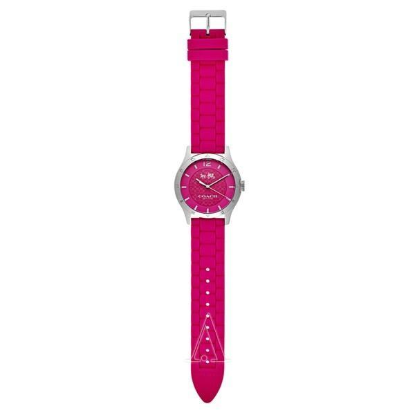 コーチ レディース MADDY ピンク シリコン 14502513 あすつく 腕時計|nopple|04