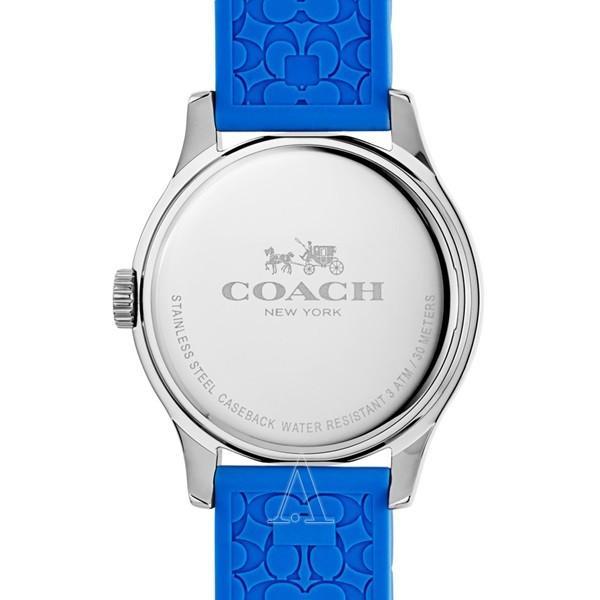 コーチ メンズ レディース MADDY ブルー シリコン 14502514 あすつく 腕時計|nopple|02