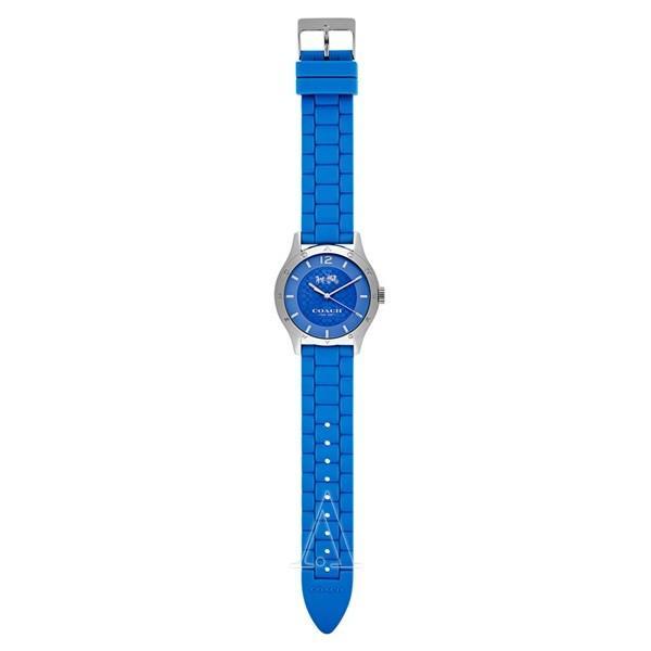 コーチ メンズ レディース MADDY ブルー シリコン 14502514 あすつく 腕時計|nopple|04