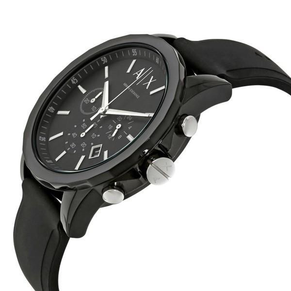 無料特典付き!アルマーニエクスチェンジ ペアウォッチ Active クロノグラフ ブラック AX1326AX1326 あすつく 腕時計