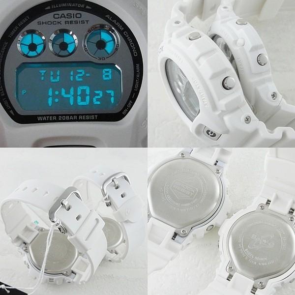 カシオ Gショック×ベビーG ペアウォッチ ホワイト×シルバー  あすつく 腕時計|nopple|03