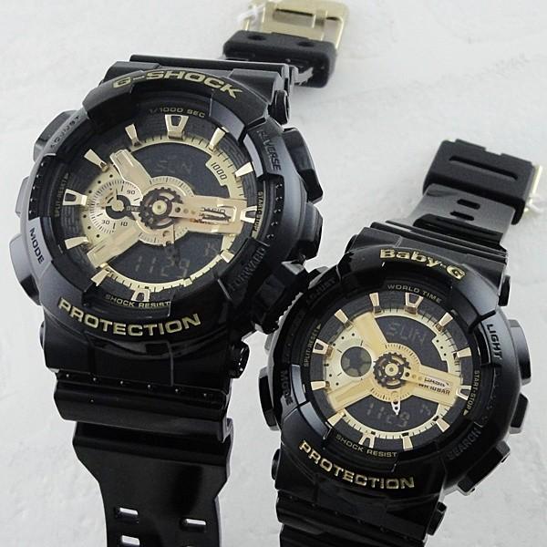 カシオ Gショック×ベビーG ペアウォッチ GA-110GB-1AJFBA-110-1AJF あすつく 腕時計|nopple|02