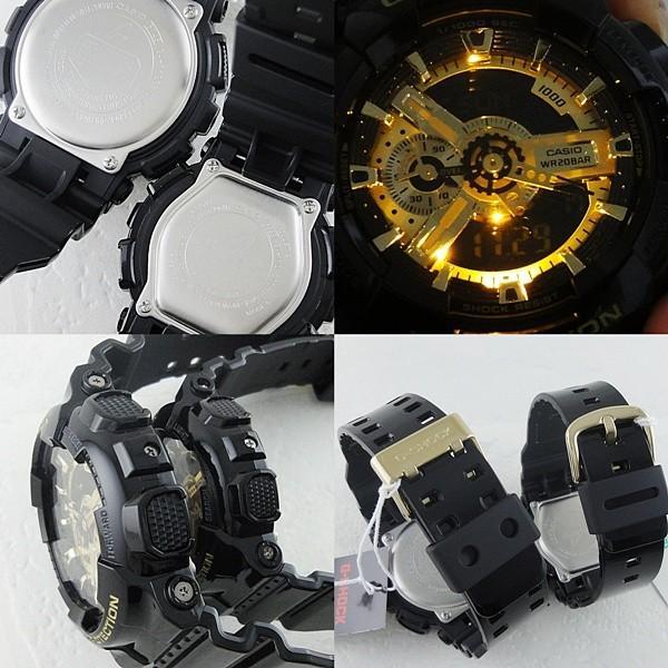 カシオ Gショック×ベビーG ペアウォッチ GA-110GB-1AJFBA-110-1AJF あすつく 腕時計|nopple|03