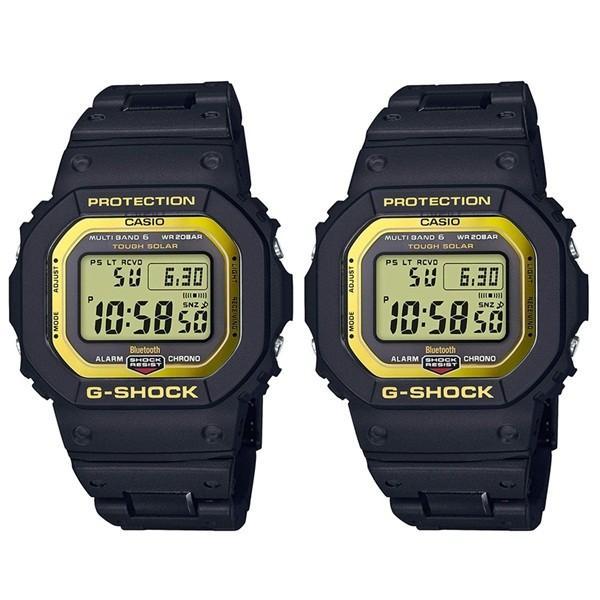 国内正規品 カシオ Gショック ペアウォッチ 時間も自動受信 Bluetooth搭載 デジタル ブラック&イエロー GW-B5600BC-1JFGW-B5600BC-1JF あすつく 腕時計