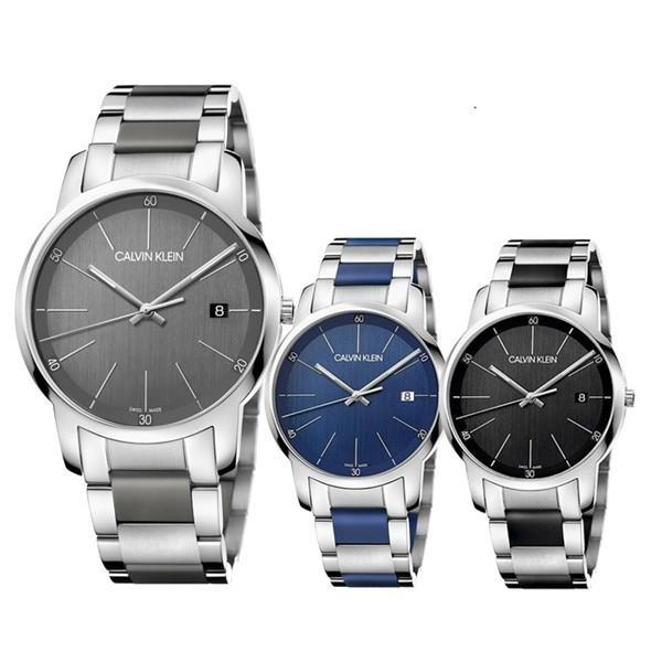 カルバンクラインCKメンズ腕時計スイス製ステンレスモデル