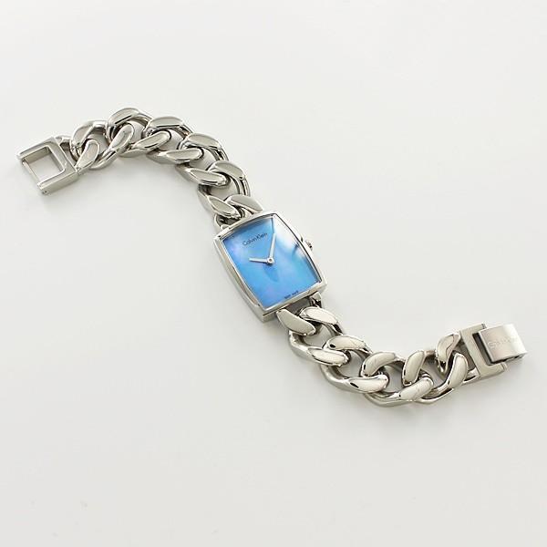 【ペアBOXプレゼント】カルバンクライン CK ペアウォッチ ライトブルー ブルーシェル ブレスレットウォッチ K5A3114XK5D2S12N あすつく 腕時計