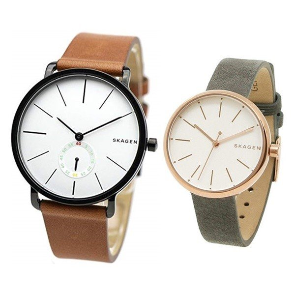 new style 1aa93 08af7 スカーゲン ペア 時計の価格と最安値|おすすめ通販や人気 ...