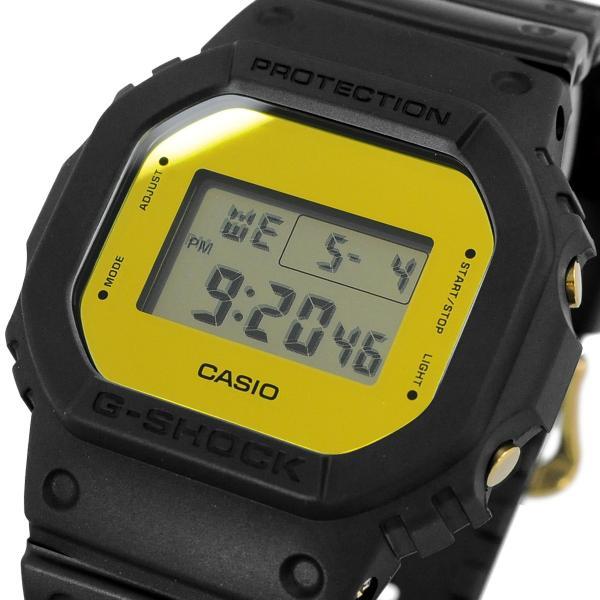 腕時計CASIOカシオ海外モデルDW-5600BBMB-1G-SHOCKGショックメタリック・ミラーフェイスメンズゴールド