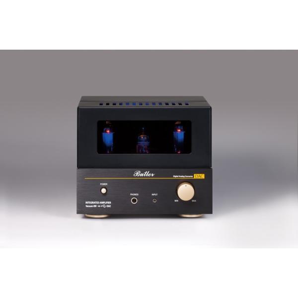 Butler バトラー 真空管アンプ Vacuum 6W(DAC) USB DAC搭載 ヘッドフォン端子付き 入力 EC83(12AX7)×1 出力 EL84(6BQ5)×2