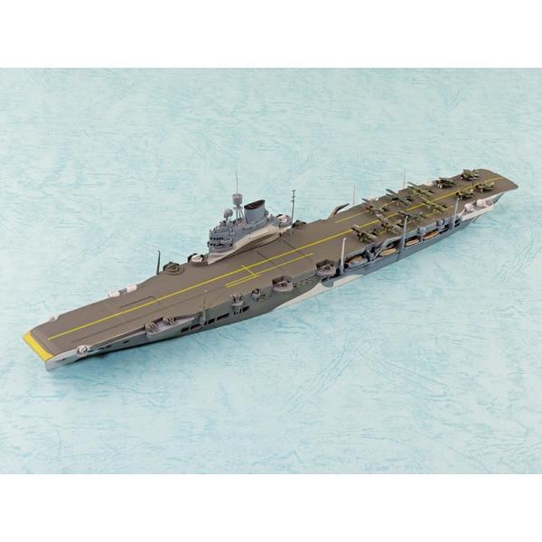 アオシマ 限定 1/700 英国海軍 航空母艦 イラストリアス ベンガジ攻撃作戦