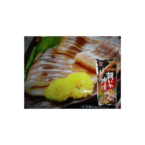 (厳選素材 スルメイカ) マルナマ食品 函館朝いか沖漬 1尾 特製昆布醤油