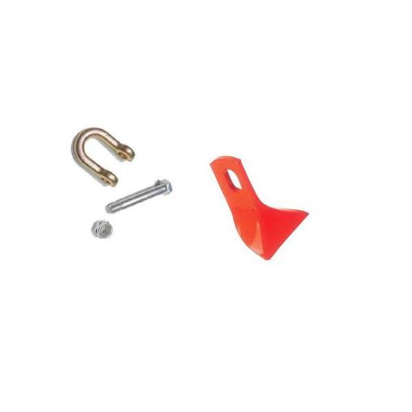 アイウッド ニプロ フレールモア イチョウ型爪  20組セット(刈刃・シャックル・ボルト・ナット)